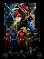 Power Rangers Movie Poster 1 by GeekTruth64