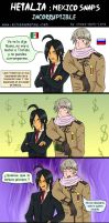 Hetalia Mexico Snaps Incorruptible by chaos-dark-lord