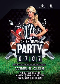 After Game Party Football by n2n44