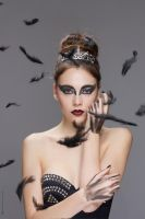 BLACK SWAN(CARNIVAL INSPIRED) by VCRetouching