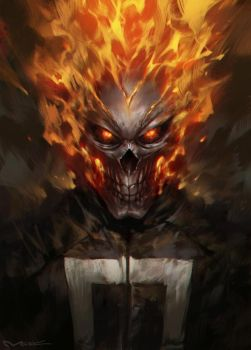 Ghost Rider by kamiyamark
