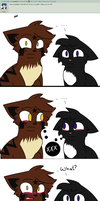 Question 2 : You guys...y'know...together? by AskRavenpawTigerstar