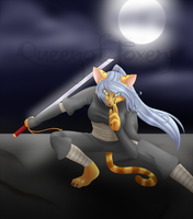Request: Ninja kat by MeadowofAshTrees