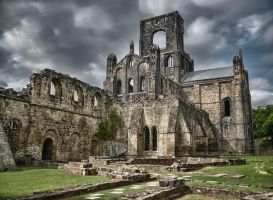 Kirkstall Abbey by woody1981