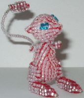 Beaded Mew by Liktra