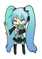 Vocaloids Miku by daitoshi
