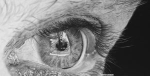 Hyperrealism. Reflectiveness by keithmore2000