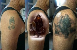viking cover up by phoenixtattoos
