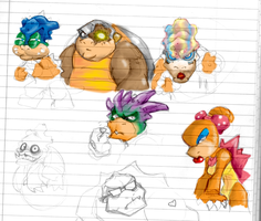 Koopa Kids by Hologramzx