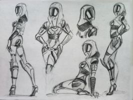 sketches Tali (66) by spaceMAXmarine
