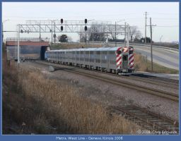 Metra West Line by classictrains