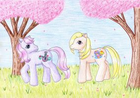 Sweetsong and Cupcake by NormaLeeInsane