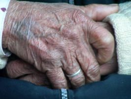 Abuela's Hands by cripwnocrutch