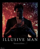 Illusive Man: Excellent by ChloroKitten