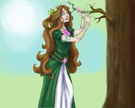 Yavanna - The Giver of Fruits by phantomsheets