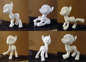 BJD Pony by silverbeam