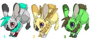 Bunny Adoptables 01 -Only 1 Left- by Goldenfoxes