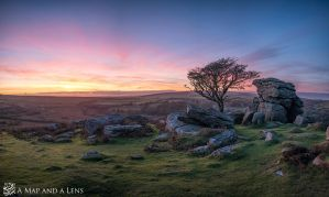 Sunset at Dartmoor by Mgsblade