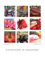 Singapore Chinatown by H4henry