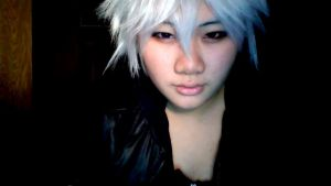 Testing out wig and make up by Tallie-Lucicfer