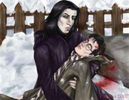 Snow by Perselus by Severus-X-Harry