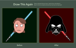 Draw this Again - Anakin Skywalker by Shultc