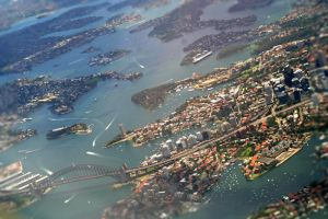 Sydney from the Air by chickitty