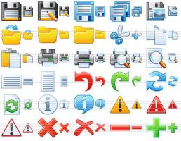 Small Toolbar Icons by richardkingempire