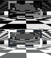 MMD Checker Stage by mbarnesMMD