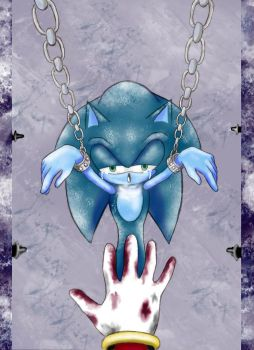 Sonic::Game over by warui-hebi