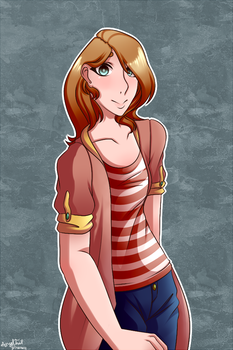 Lisa (Commision) by AngelThatDraws