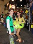 San Diego Comic Con 2014 Link and Fairy by DougSQ