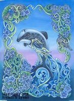 Hector's Dolphin by RavensLore