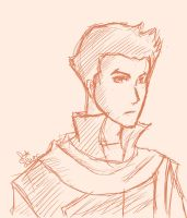 LoK sketches: Mako by Evurinn