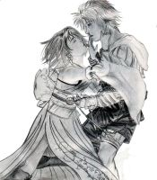 Tidus and Yuna by Farren-Seiko