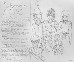 Warriors of Oz ... We're Doomed by sarahsmiles916