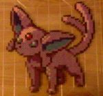 Espeon Comm 1/2 [Updated Silver Sprite] by Kinkachuu