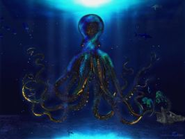 king of the deep sea by thisign