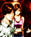 SILENT HILL 4 Eileen and Henry by Sousuke-SHZ