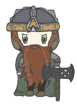 Gimli by a-quiet-person