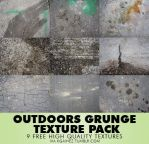 Outdoors Grunge Texture Pack by kgainez