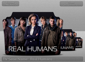 Real Humans - Tv Series Folder Icon by atty12