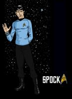 Spock by DLTabor