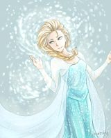 Frozen - Elsa by iSnowFairy