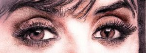 Eyes of Penelope CRUZ by cmg2901