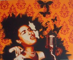 billie holiday commission by 10baron10