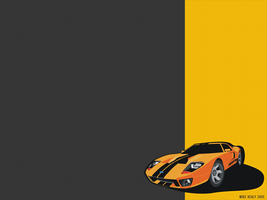 Ford GT by cranial-bore