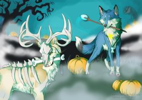 Halloween by Henva