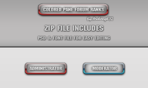 Colored Pane Forum Ranks 3.2 by bry5012