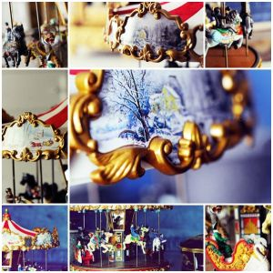 Carousel in the living room.. by Do7anii